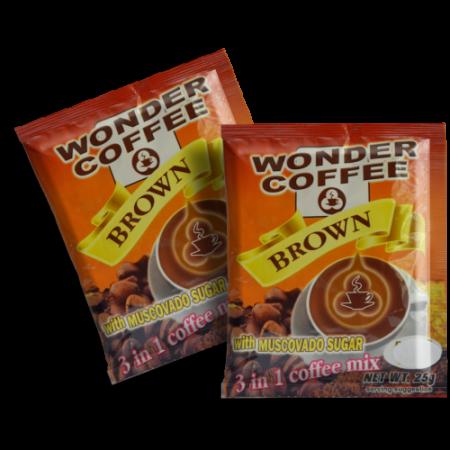 Wonder Coffee 3 in 1 with Muscovado Sugar